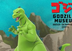 Mondo Kicks Off New GODZILLA MUSEUM Collectibles Line Of Small-Scale Statues With GODZILLA: THE ANIMATED SERIES (1970s)
