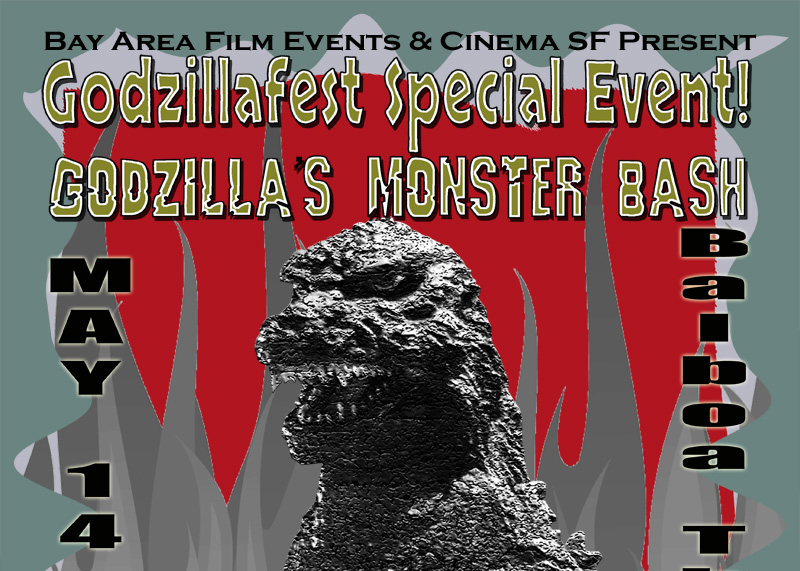 GODZILLAFEST SPECIAL EVENT! Godzilla's Monster Bash in San Francisco!